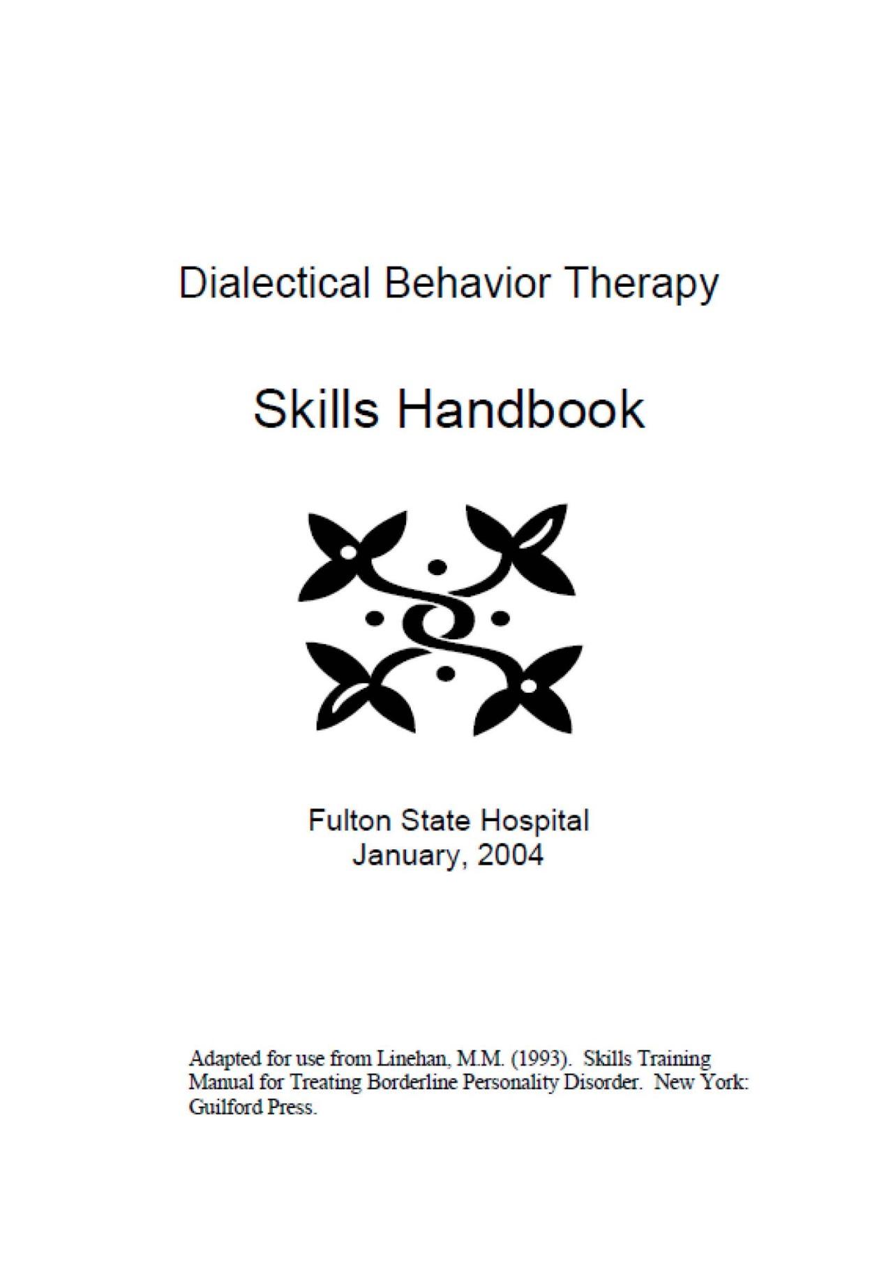 Healingschemas Dbt Skills Resources Model For