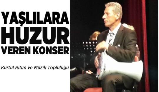 Kurtul Çetil Yaşlılara Huzur Veren Konser