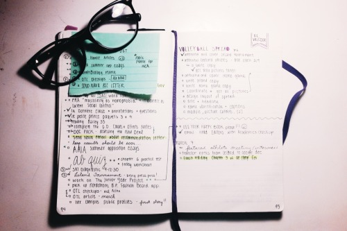"studivity: ""What my bullet journal looks like for the weekend 😍 """