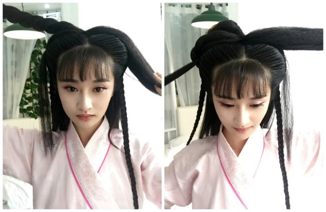 my hanfu favorites — hairstyle tutorial for traditional