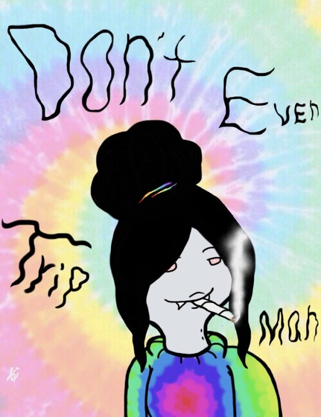 I Dont Smoke Weed Cartoon