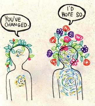 forgiveness and change