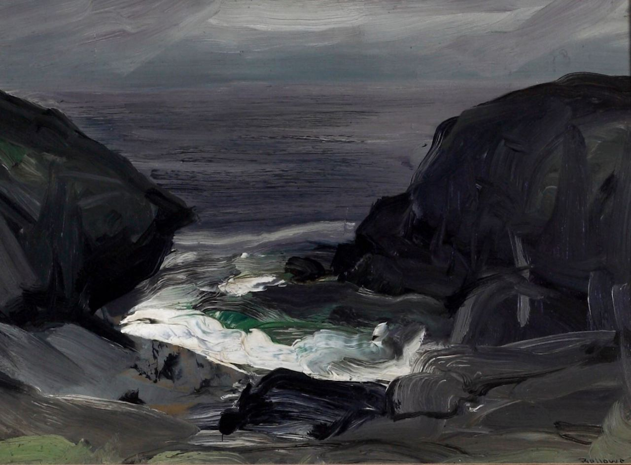 George Wesley Bellows (1882-1925) The Coming Storm, 1911