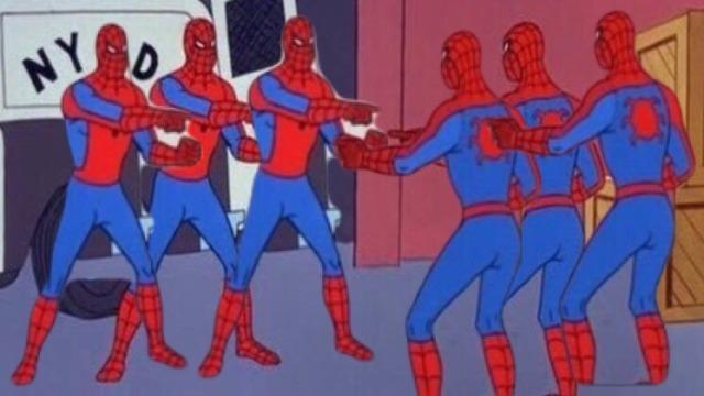 Spider Man Pointing Memes Kapwing