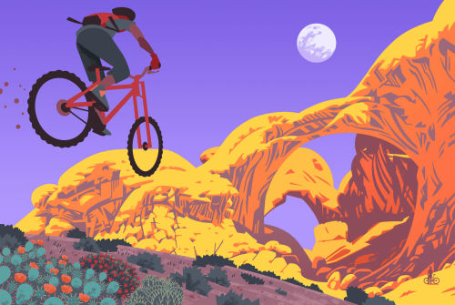 These striking illustrations are the genius work of Ross Murray who illustrated Lonely Planet's upcoming Epic Bike Rides of The World book. We asked Ross to tell us why he chose the locations, colours and composition of each piece. Epic Bike Rides of...