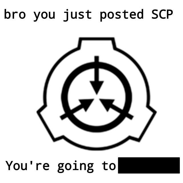 Scp 1471 Scp 173 Meme Scp Memes Funny Horror