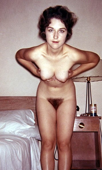 "whenpussieswerefurry: "" Tiny hangers "" Beautiful young wife making an offering. (Tiny? You don't know what tiny is!)"