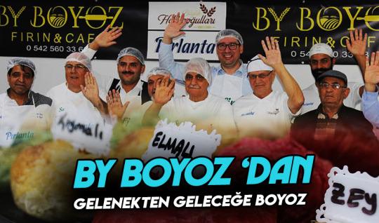İzmir'in boyozunu en mükemmel haliyle geleceğe taşıyacaklar