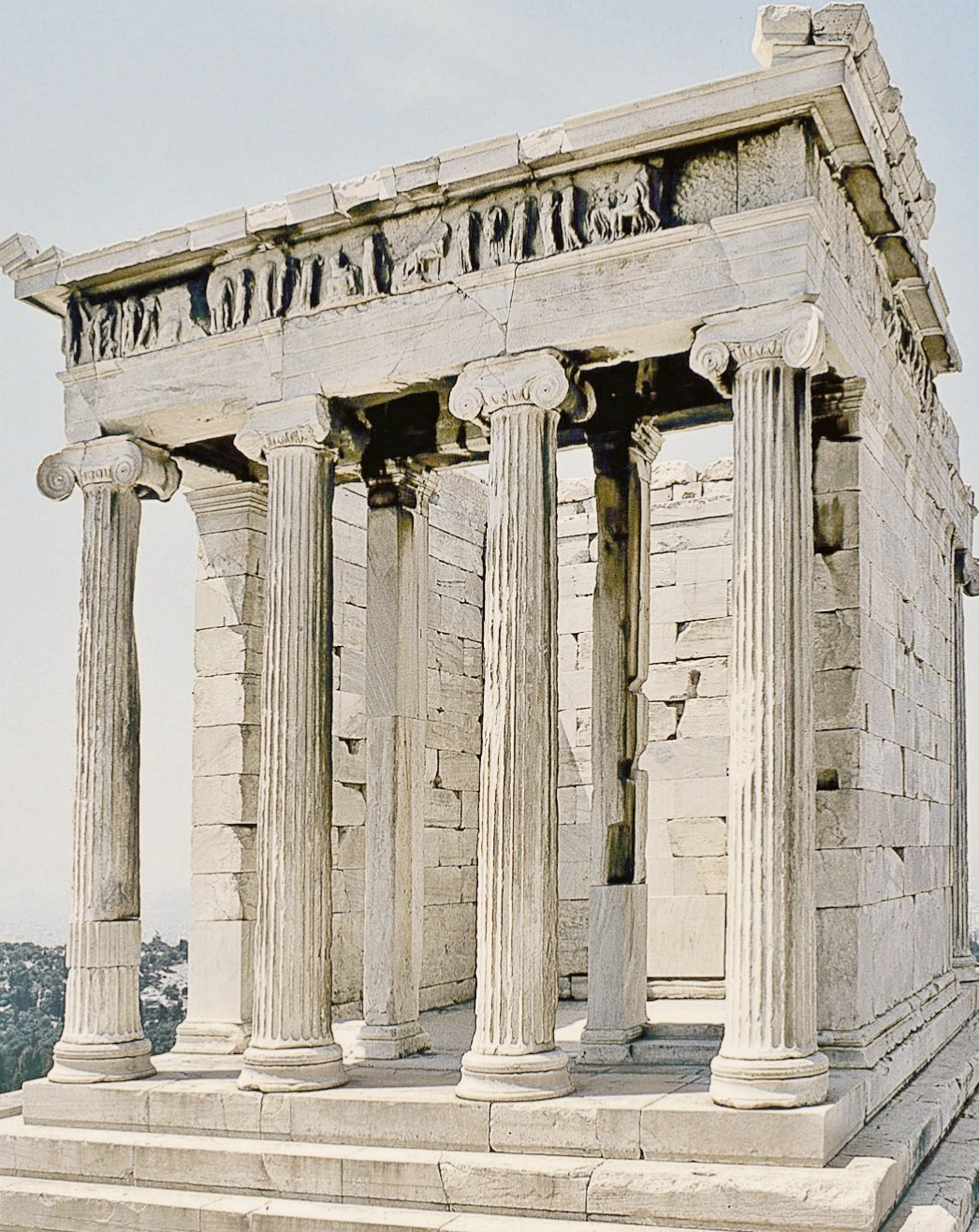 Hidden Mysteries The Temple Of Athena Nike Ionic Style