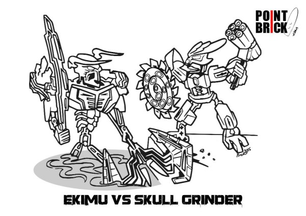 bionicle coloring pages # 6