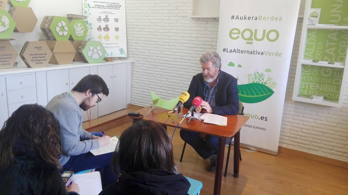 """Juantxo López de Uralde: """"Aspiro a seguir trabajando en el Congreso para poner a Álava en el lugar que merece"""""""