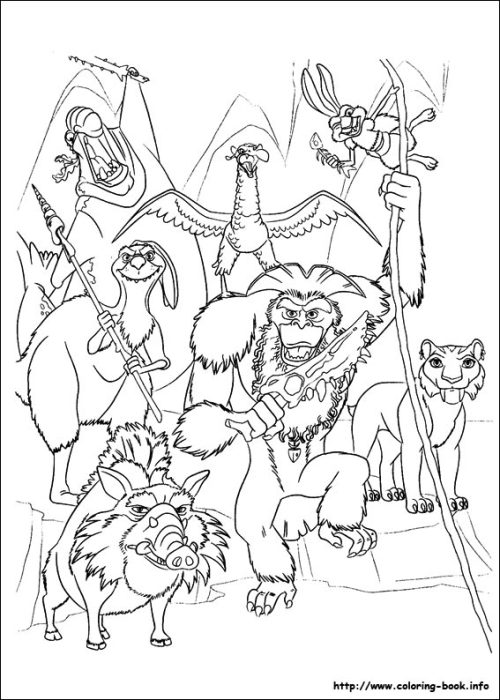 ice age 4 coloring pages coloring pages now
