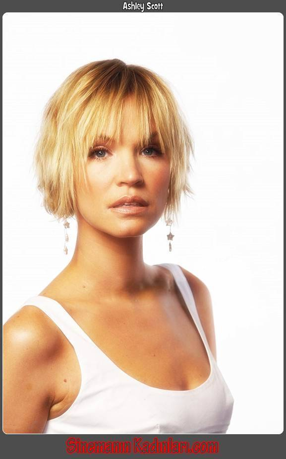 Ashley Scott,Ashley McCall Scott,1977,Dark Angel,Asha Barlow,Jericho,Emily Sullivan,April,Annie,Broken Promise,Mina Gardner,A Killer Walks Amongst Us ,Hathaway,CSI: Miami,Zoe Belle,NCIS,Dana Hutton,UnREAL,Mary Newhouse,A.I. Artificial Intelligence,Gigolo Jane,