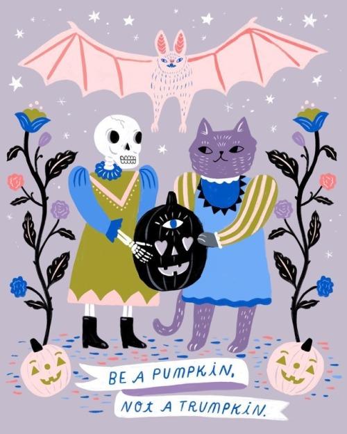 tumblr_phh3lvgUH01qz6f9yo2_500 Halloween - Vivian Mineker, Sarah Walsh, and Kate Pugsley Random
