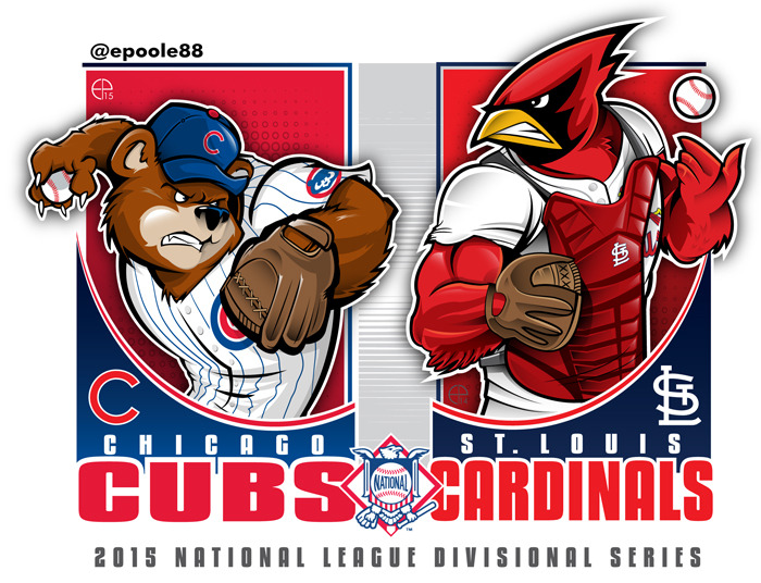 EPoole88 2015 MLB Divisional Matchups And The Wild Card