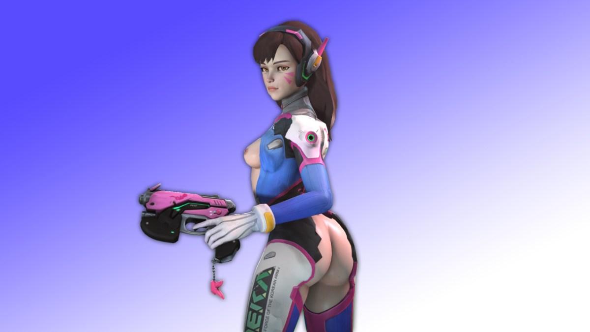 D.Va 3D Posing