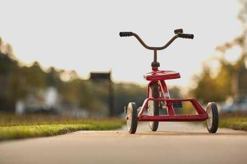 אופניים לפעוטות 3 גלגלים