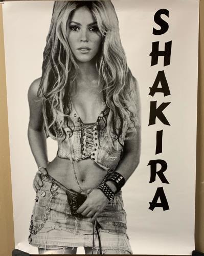 Shakira Shakira Poster poster UK IKAPOSH737765