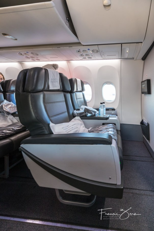 The MAX 8 seats are similar to the 757 variety, but felt more comfortable and a bit more roomy