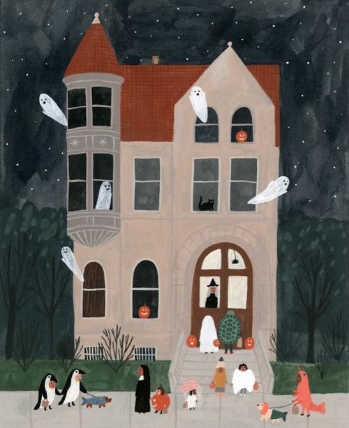 tumblr_phh3lvgUH01qz6f9yo3_500 Halloween - Vivian Mineker, Sarah Walsh, and Kate Pugsley Random