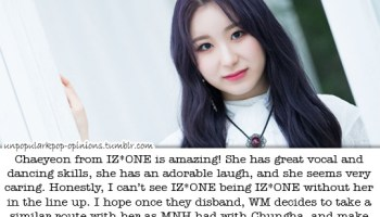 Izone and Twice are similar in that they lacke… – KPop Fan