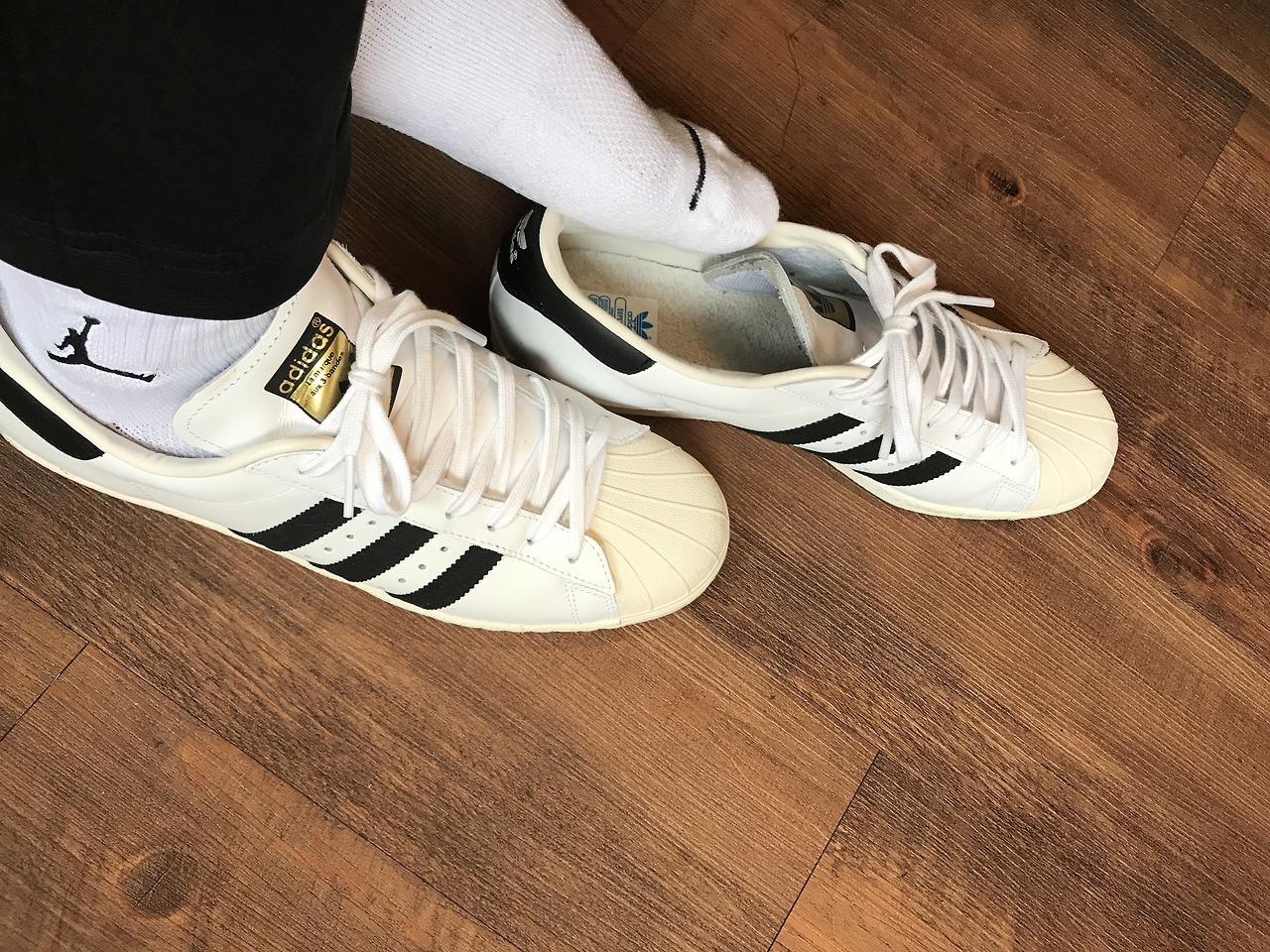 #鞋襪控 #歡迎交流#給我你的line ID #TOP — adidas superstar