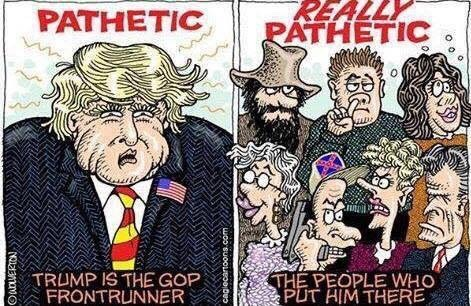 Image result for tea party for trump cartoons