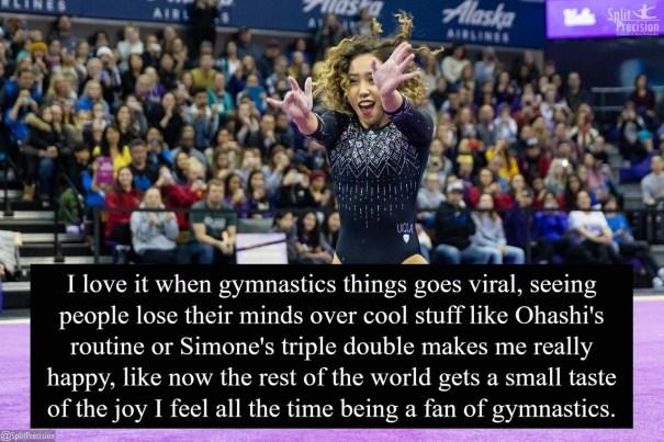 katelyn ohashi – Gymnastics