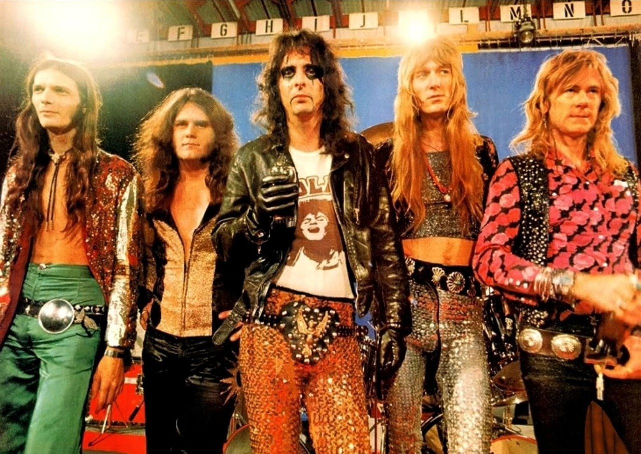 1890 Cosplay Vintage Lingerie Porn Pics the alice cooper band (with alice wearing a ma… – glamrock