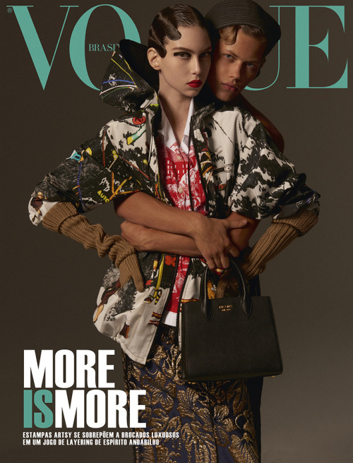 Major Model Brasil joel W para Revista Vogue