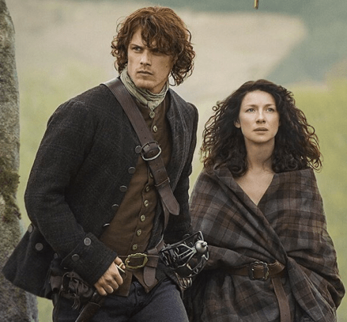 Image result for jamie claire outlander