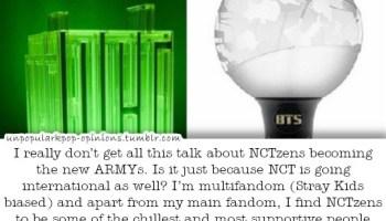 The whole Armies Vs NCTzen fanwar was so stupi… – KPop Fan