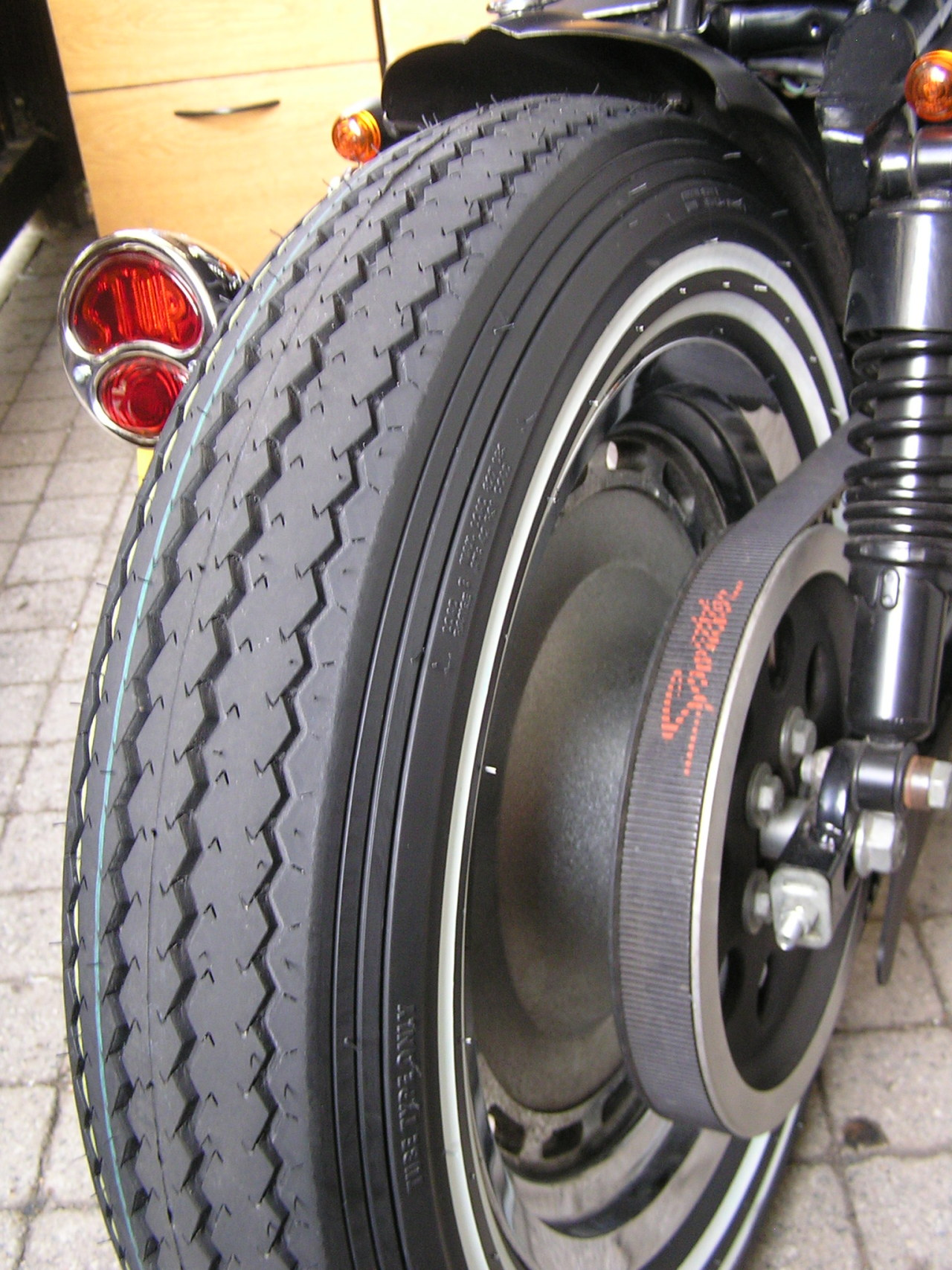 Bobber Inspiration Old School Motorcycle Tire Bobbers