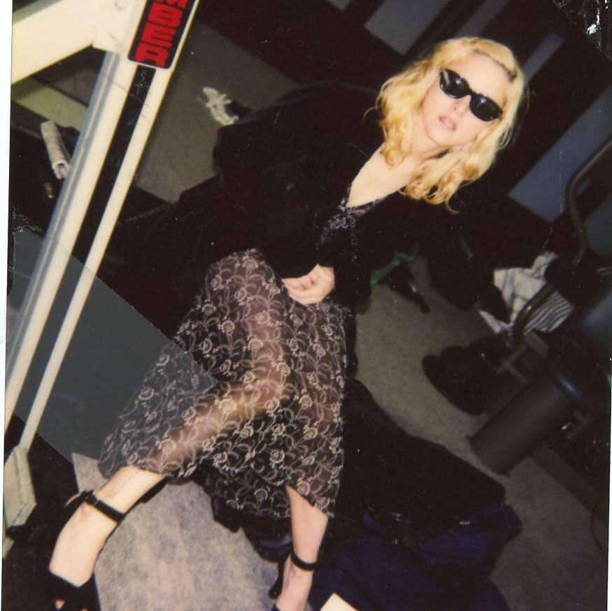 Madonna, wardrobe fitting from 1993 – Pop Culture