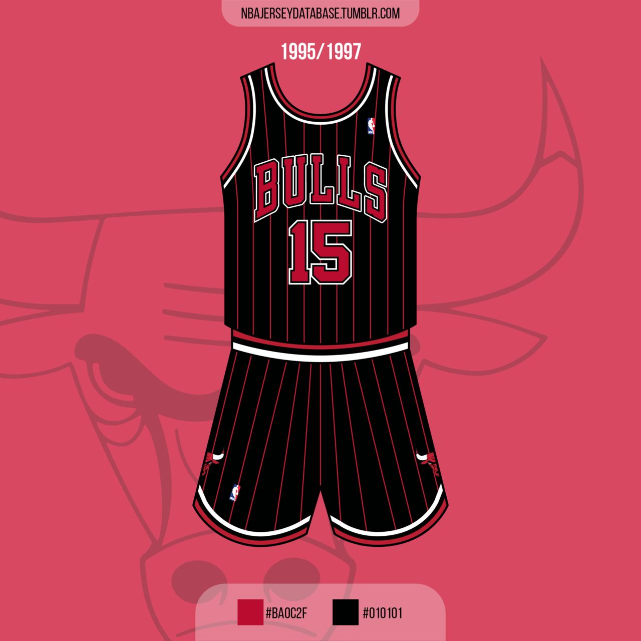 Chicago Bulls Alternate Jersey 1995-1997