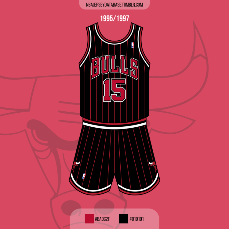Chicago Bulls Alternate Jersey 1995-1997