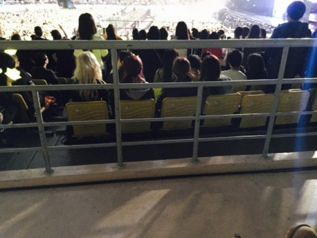 """[Fantaken] YG New Girl Group @ BIGBANG's Concert 160306 """