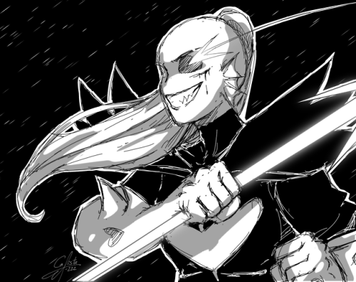 Undertale Undyne Undying Drawing