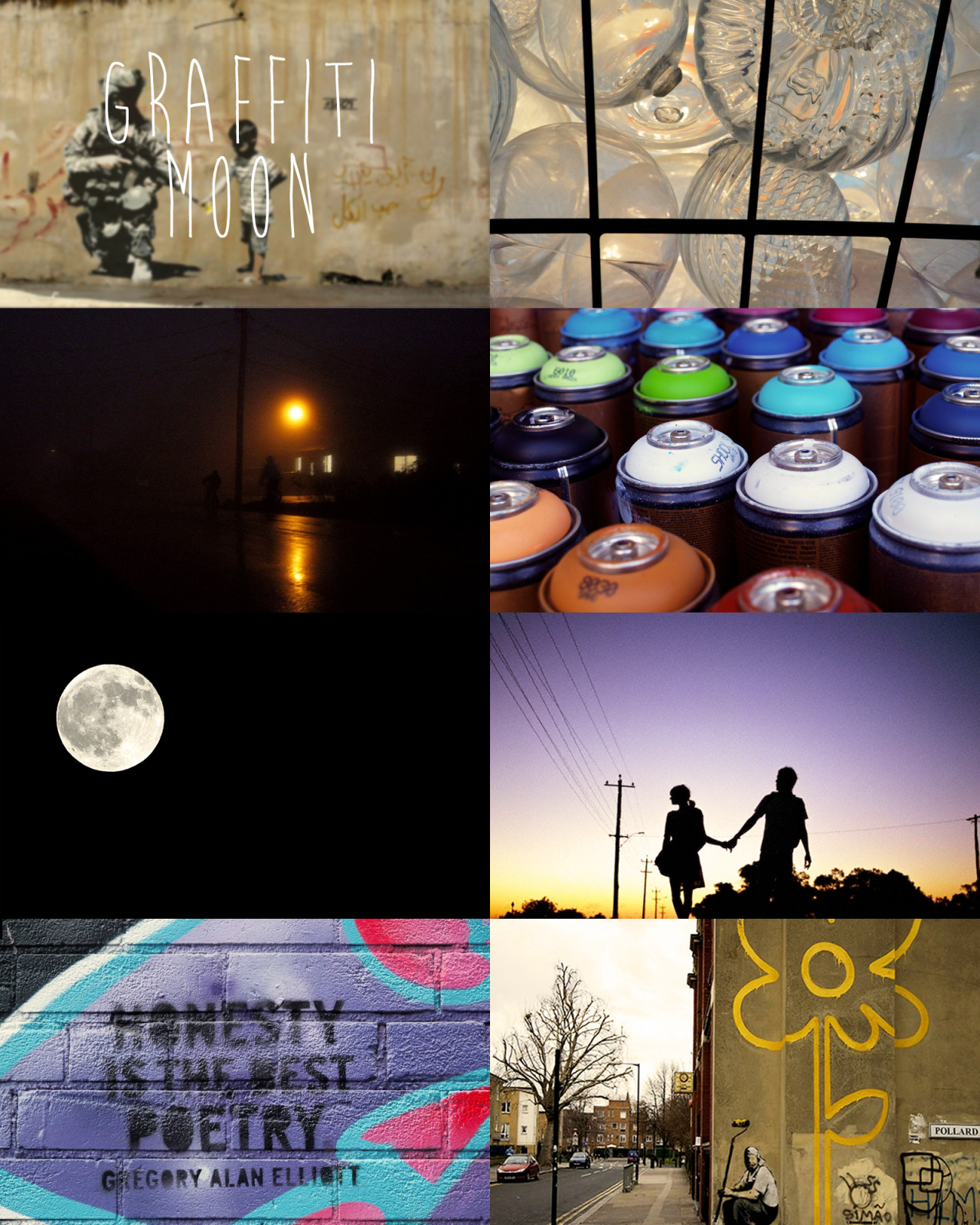 The Art And Poetry Of Graffiti Moon