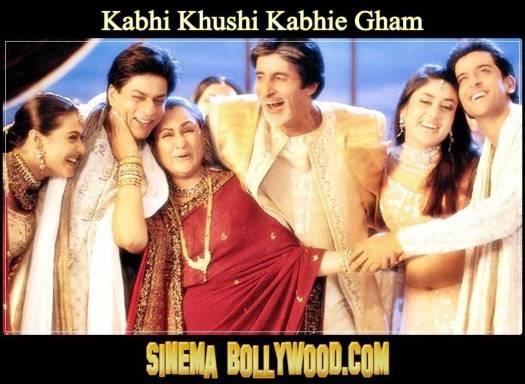 Kabhi Khushi Kabhie Gham,2001,210 Dak.,Hintçe,Bollywood,Bazen mutluluk var, bazen Keder var,
