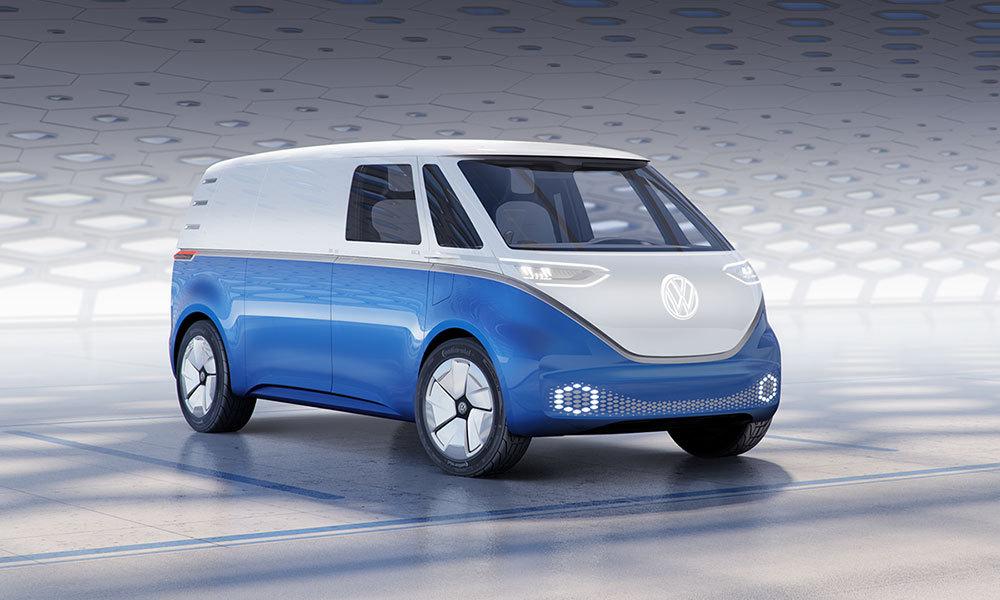 (via Volkswagen's I.D. Buzz Cargo Microbus Is Retro-Futuristic Perfection)