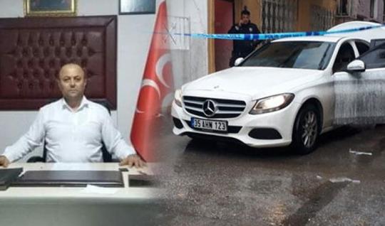 MHP'li İlçe Başkanına Buca'da Silahlı Saldırı