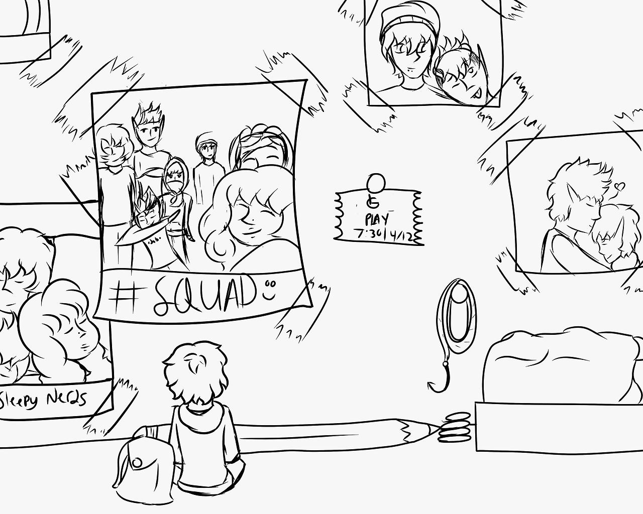 Heyo I Draw Inktober Day Nine