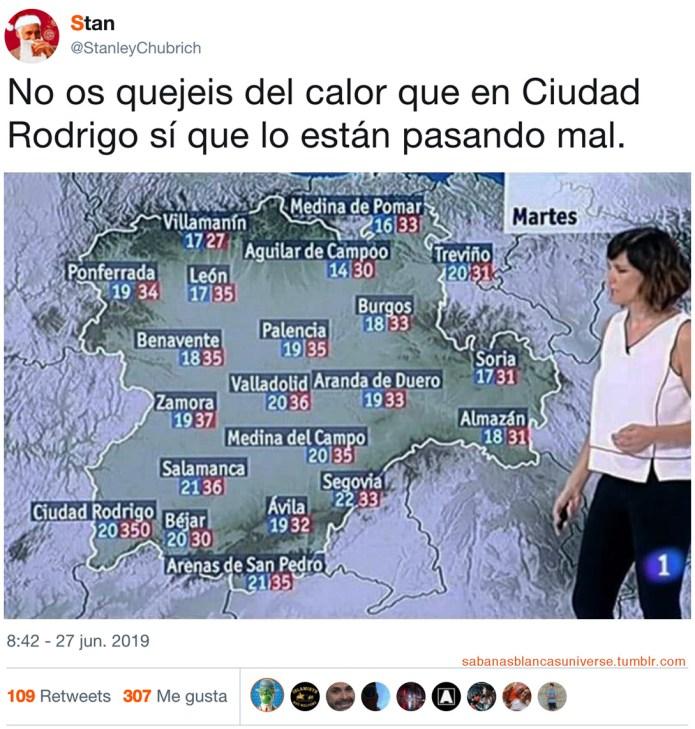 En Ciudad Rodrigo sí hace calor