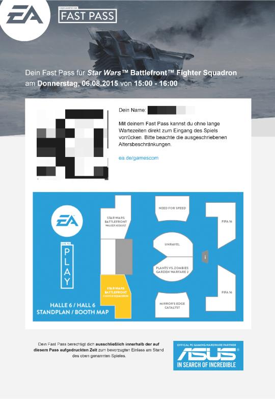 Beispiel EA Fastpass von 2015