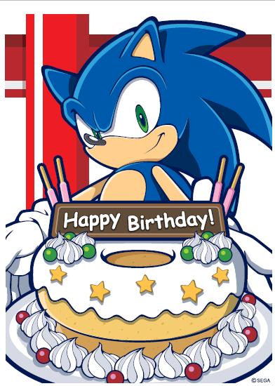 Happy Sonic Birthday 26