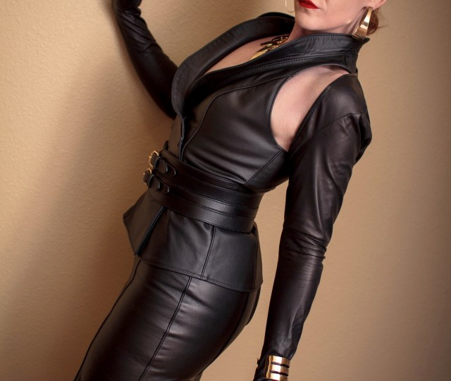 Kittydenied Dont Have To Be A Domme To Look Awesome In Leather