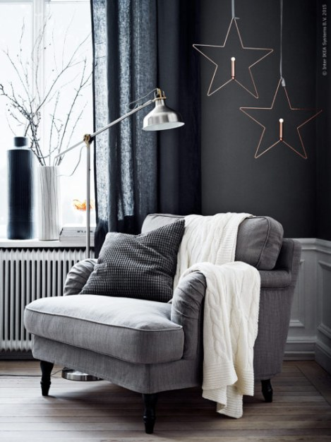 grey winter mood (via Livet Hemma – IKEA)