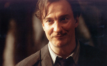 Image result for remus lupin gives harry chocolate to recover from
