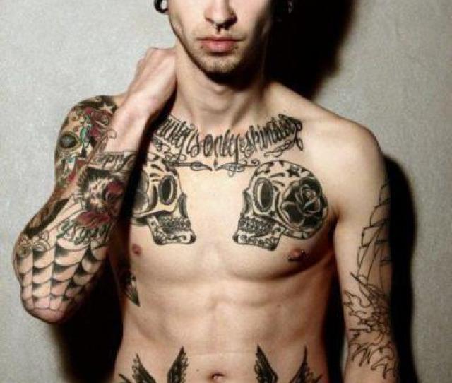 Tattosguyguy With Tattooshothot Boyhot Guycaveiracaveiras Mexicanasskuulmexican Skullsalargador